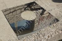 Крышки проходов стен и перекрытий