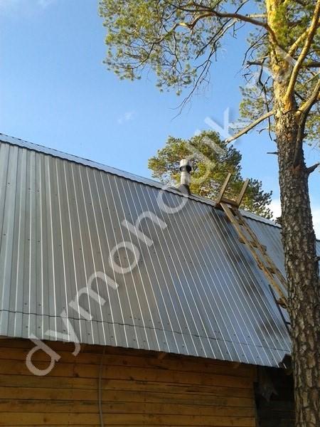 Отзыв о смонтированном дымоходе клиента из г. Радужный, Ханты-Мансийск