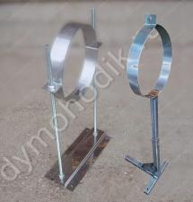 Регулируемый крепеж дымохода 210 мм из нержавейки