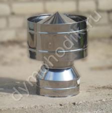 Купить ветровой дефлектор 120x200 мм для дымохода