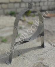 Кронштейн стеновой нерегулируемый для дымохода 150x230 мм