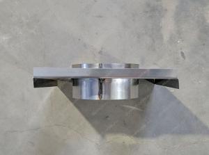 Купить монтажную площадку дымохода 150x230 мм для стеновой консоли
