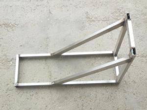 Опорная консоль для дымохода из нержавеющей стали до 350x430 мм