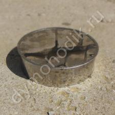 Купить заглушку-ревизию 350 мм из нержавеющей стали для дымохода