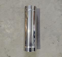 Труба одностенная 250 мм для дымохода