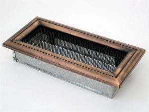 Вентиляционная решетка Kratki 11x24 Оскар медь