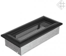Вентиляционная решетка Kratki 11x24 Оскар черная