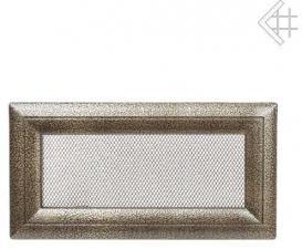Вентиляционная решетка Kratki 11x24 Оскар черная/латунь