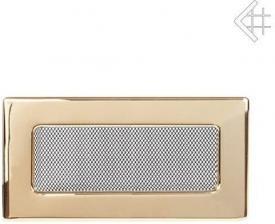 Вентиляционная решетка Kratki 11x24 Полированная латунь