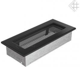 Вентиляционная решетка Kratki 11x24 Черная