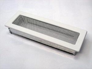 Вентиляционная решетка Kratki 11x32 Белая