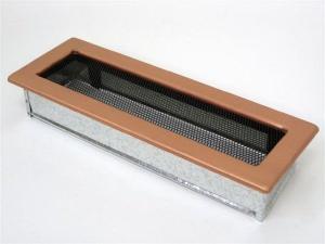 Вентиляционная решетка Kratki 11x32 Гальваника под медь