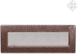 Вентиляционная решетка Kratki 11x32 Черная/медь пористая