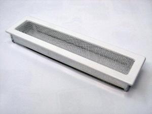 Вентиляционная решетка Kratki 11x42 Белая