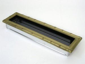 Вентиляционная решетка Kratki 11x42 Диана латунь