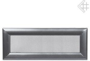 Вентиляционная решетка Kratki 11x42 Оскар графитовая