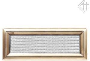 Вентиляционная решетка Kratki 11x42 Оскар латунь