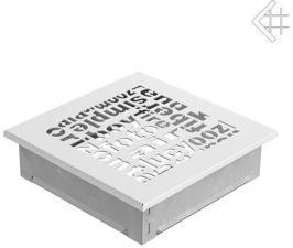 Вентиляционная решетка Kratki 17x17 ABC белая