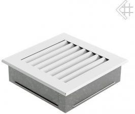 Вентиляционная решетка Kratki 17x17 FRESH белая
