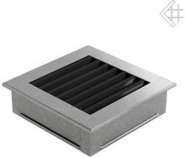 Вентиляционная решетка Kratki 17x17 FRESH стальная
