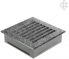 Вентиляционная решетка Kratki 17x17 FRESH черна хром пористая