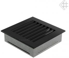 Вентиляционная решетка Kratki 17x17 FRESH черная