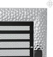 Вентиляционная решетка Kratki 17x17 Venus никелированная с жалюзи
