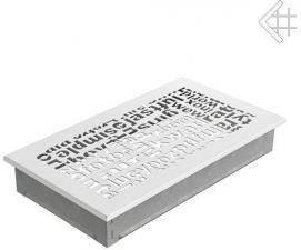 Вентиляционная решетка Kratki 17x30 ABC белая