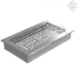 Вентиляционная решетка Kratki 17x30 ABC стальная