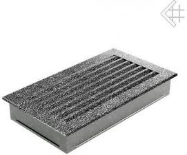 Вентиляционная решетка Kratki 17x30 FRESH черная хром пористая