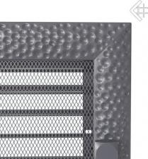 Вентиляционная решетка Kratki 17x30 Venus графитовая с жалюзи
