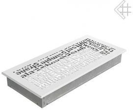 Вентиляционная решетка Kratki 17x37 ABC белая
