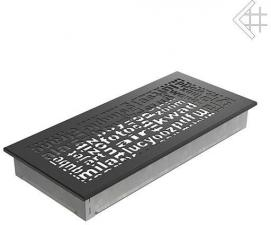 Вентиляционная решетка Kratki 17x37 ABC черная