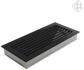Вентиляционная решетка Kratki 17x37 FRESH черная