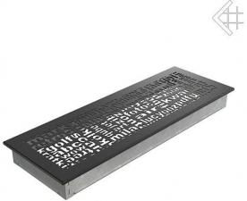 Вентиляционная решетка Kratki 17x49 ABC черная