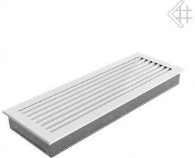 Вентиляционная решетка Kratki 17x49 FRESH белая