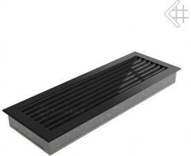 Вентиляционная решетка Kratki 17x49 FRESH черная