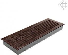 Вентиляционная решетка Kratki 17x49 FRESH черная медь пористая