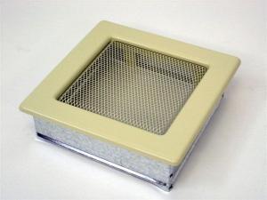 Вентиляционная решетка Kratki 17x17 Бежевая