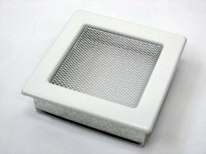 Вентиляционная решетка Kratki 17x17 Белая