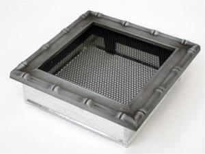 Вентиляционная решетка Kratki 17x17 Диана хром