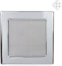 Вентиляционная решетка Kratki 17x17 Никелированная