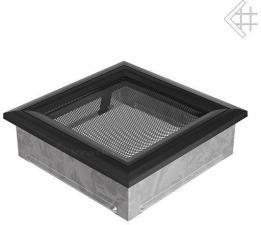 Вентиляционная решетка Kratki 17x17 Оскар черная
