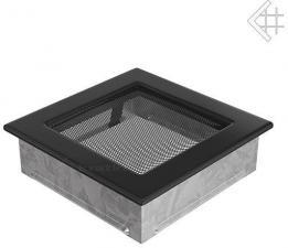 Вентиляционная решетка Kratki 17x17 Черная