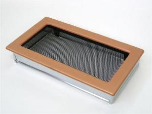 Вентиляционная решетка Kratki 17x30 Гальваника под медь