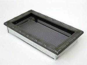 Вентиляционная решетка Kratki 17x30 Диана хром