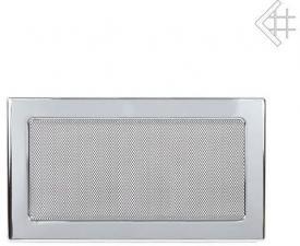 Вентиляционная решетка Kratki 17x30 Никелированная
