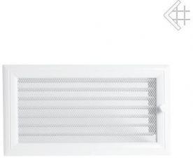 Вентиляционная решетка Kratki 17x30 Оскар белая с жалюзи
