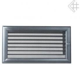 Вентиляционная решетка Kratki 17x30 Оскар графитовая с жалюзи
