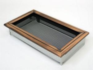 Вентиляционная решетка Kratki 17x30 Оскар медь